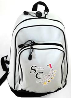 Rucksack in Cremeweiß mit Spieler Collection Logo