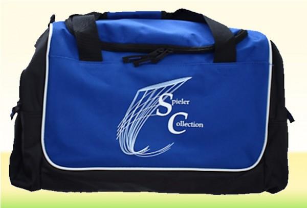 Sporttasche blau mit Spieler Collection Logo
