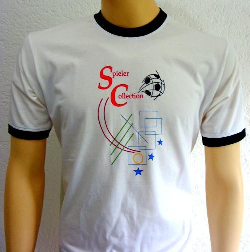 T-Shirt 3 Sterne und Fussball