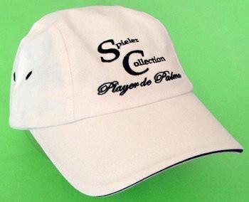 Kappe Sport mit Logo beige